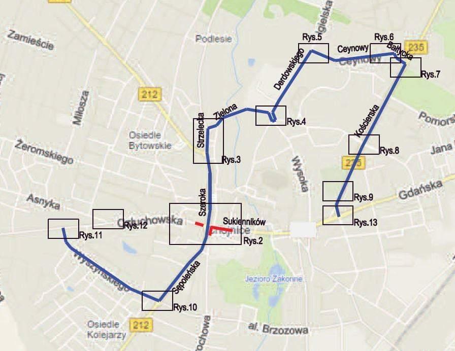 Przejazd przez Rondo Solidarności w Chojnicach od dziś 16.05 możliwy tylko z dwóch stron