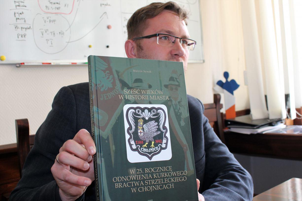 Jest kolejne wydawnictwo o historii Chojnic. Tym razem o bractwie strzeleckim