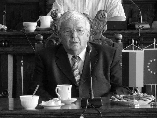 Zmarł Reinhold Wietkamp Honorowy Obywatel Miasta Chojnice