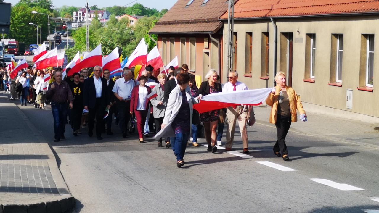 W Bytowie odbyła się inscenizacja upamiętniająca marsz Kaszubów na Bytów