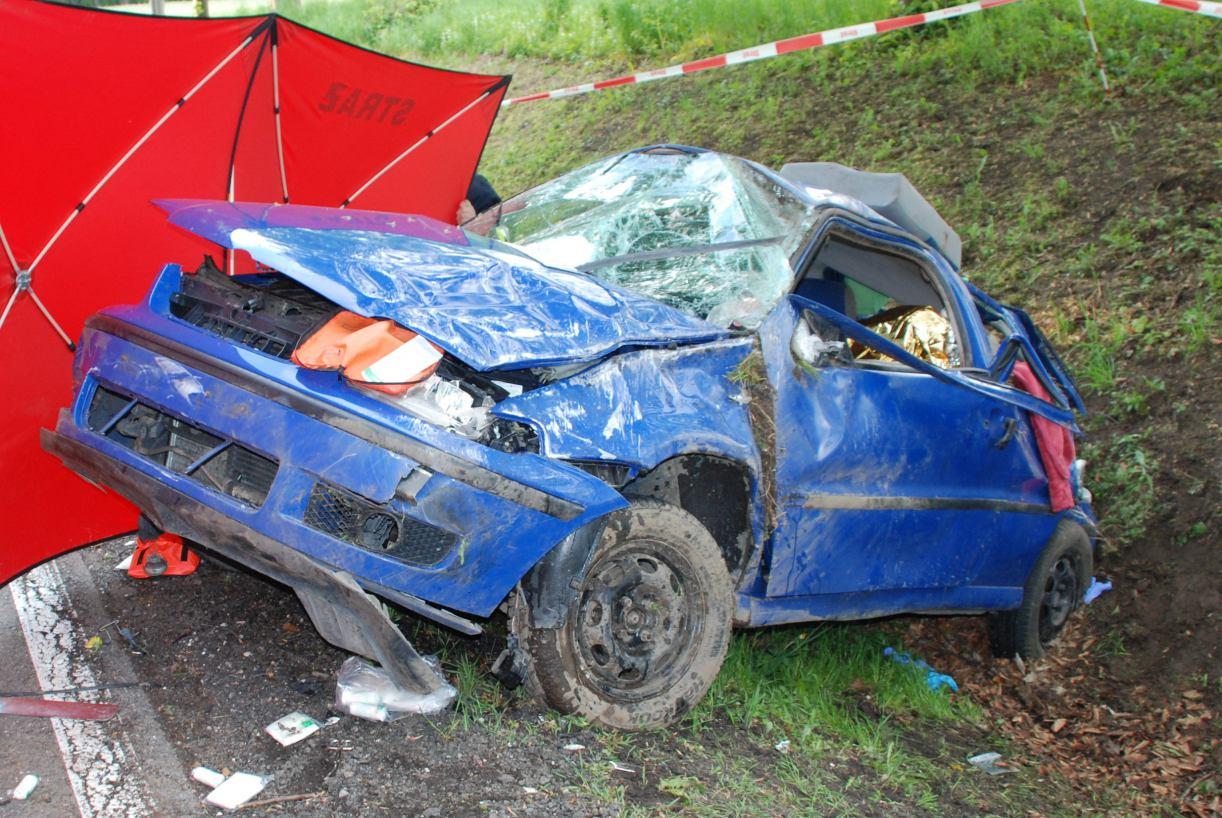 Śmiertelny wypadek w Objezierzu w gminie Trzebielino. Nie żyje 38-letnia mieszkanka powiatu człuchowskiego