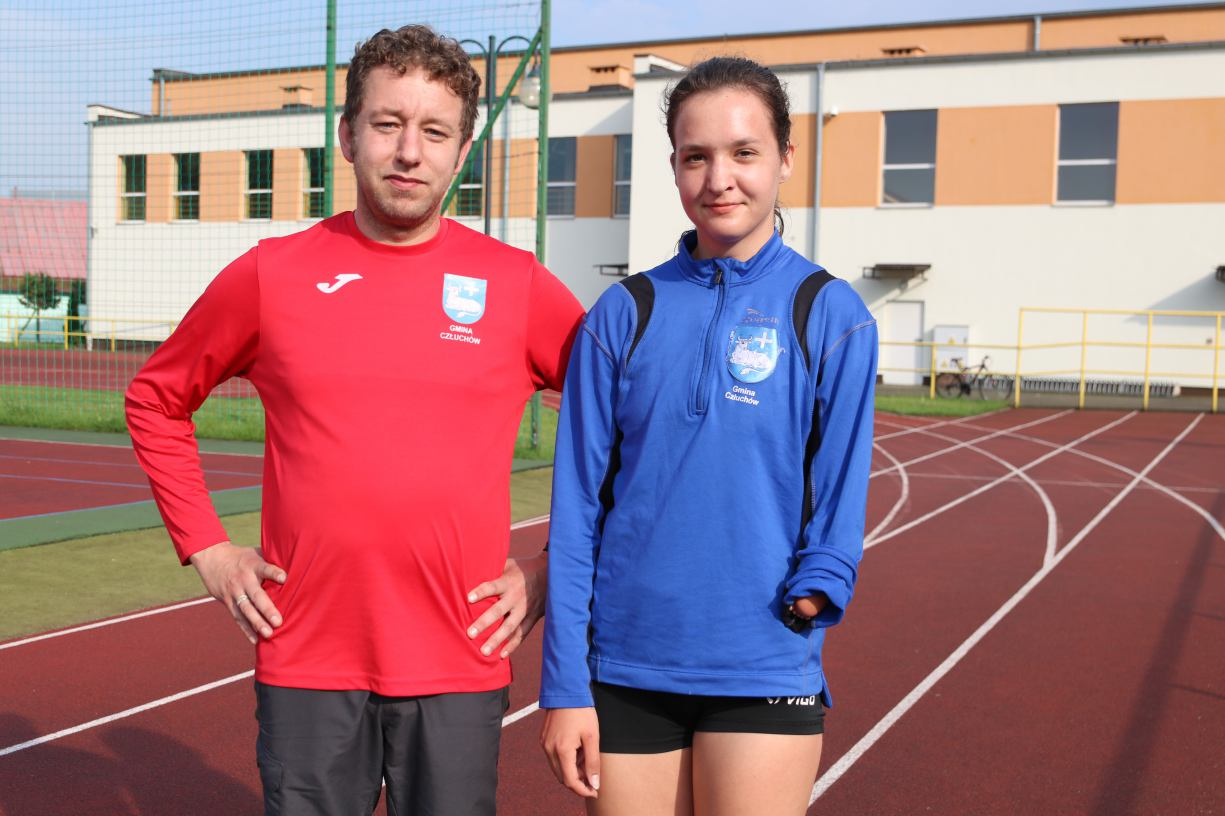 Sprinterka Wikinga Rychnowy Agata Gałan została potrójną złotą medalistką