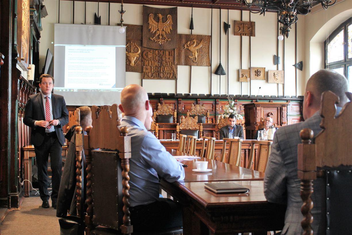 W chojnickim ratuszu dyskutowano, jak ma wyglądać miejski budżet obywatelski