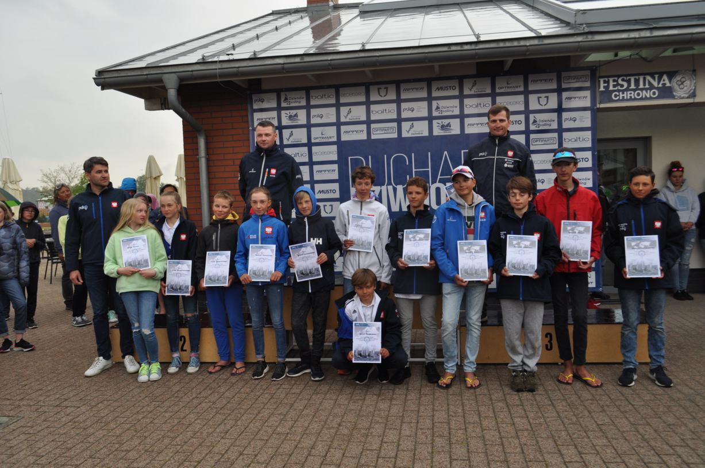 Trzej zawodnicy Chojnickiego Klubu Żeglarskiego w kadrze na Mistrzostwa Europy i Mistrzostwa Świata w klasie Optimist