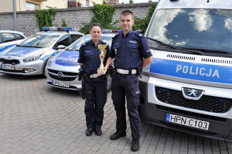 Mistrzowie-ratownicy z Komendy Powiatowej Policji w Bytowie