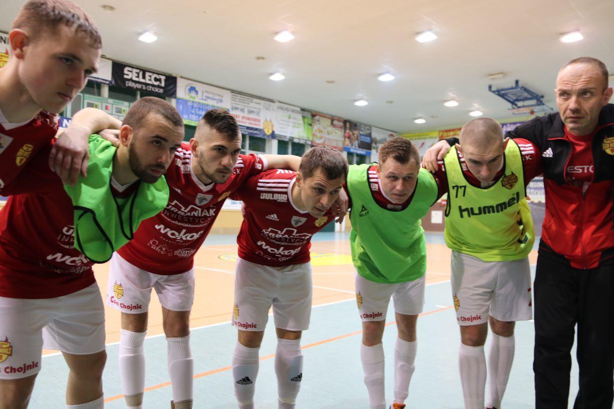 Futsaliści Red Devils Chojnice przegrali na koniec sezonu po golu straconym w ostatniej sekundzie meczu