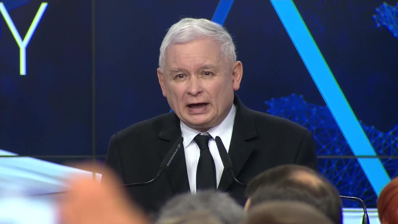 J. Kaczyński po zwycięstwie w wyborach do europarlamentu