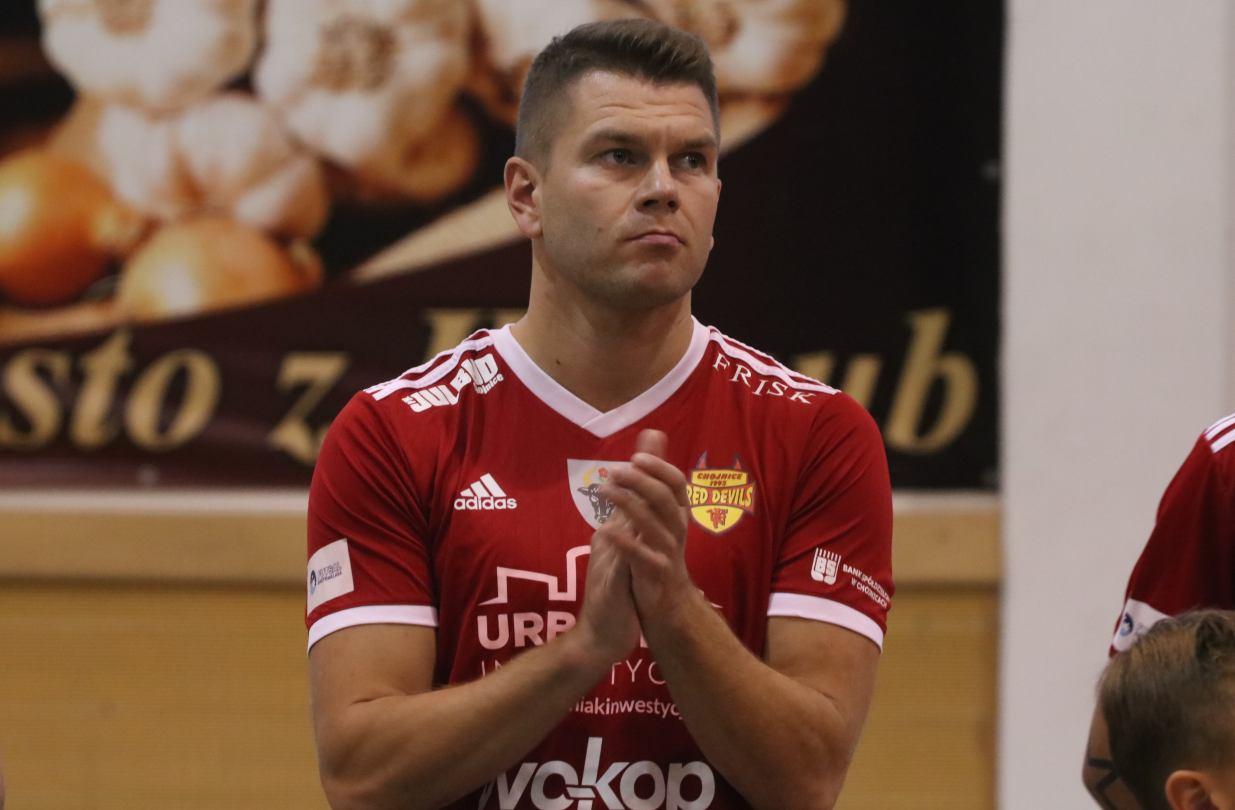 Jakub Mączkowski pozostanie trenerem Red Devils Chojnice w następnym sezonie
