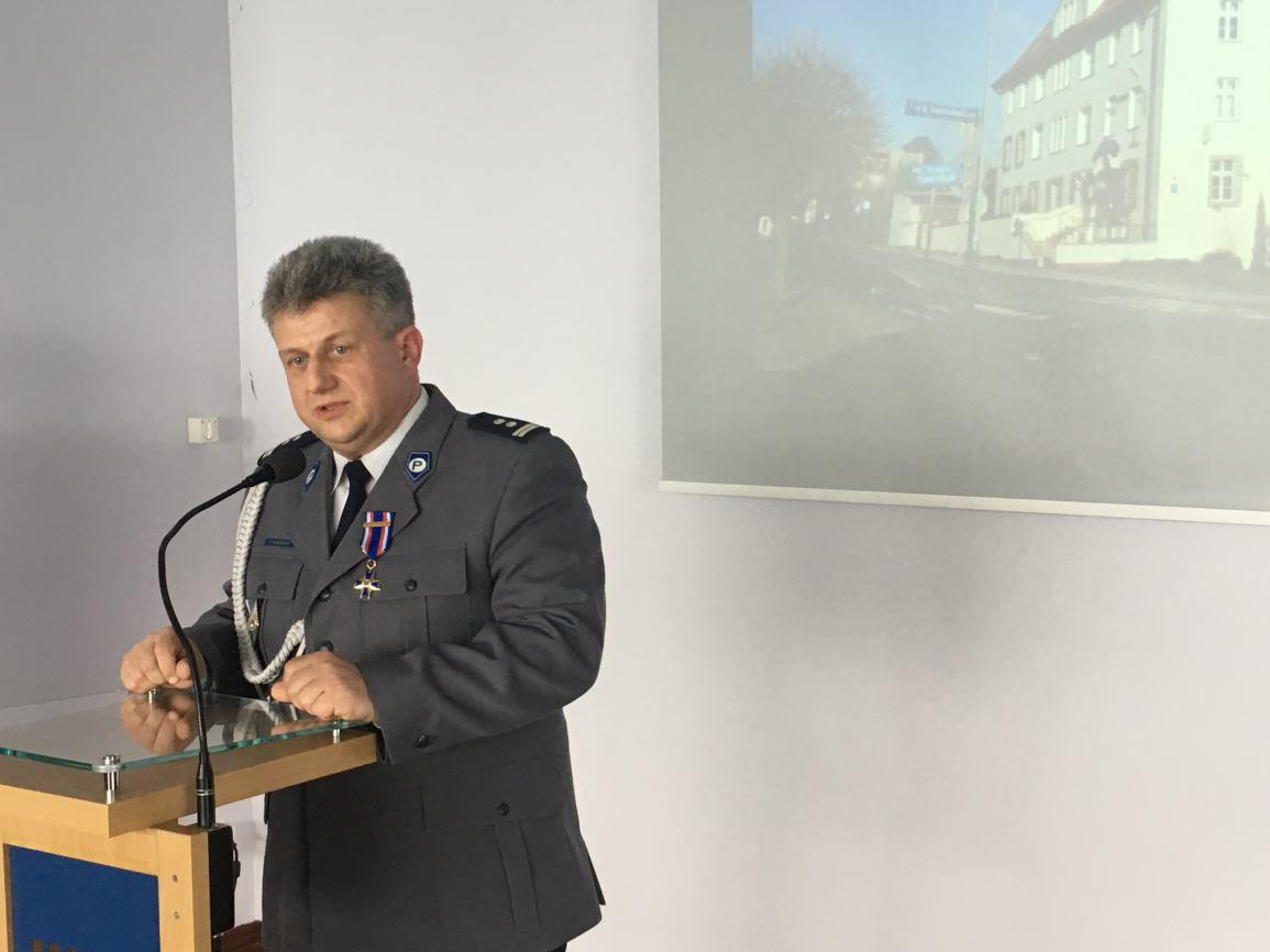 Zmiany na stanowisku pierwszego zastępcy komendanta policji w Kościerzynie FOTO