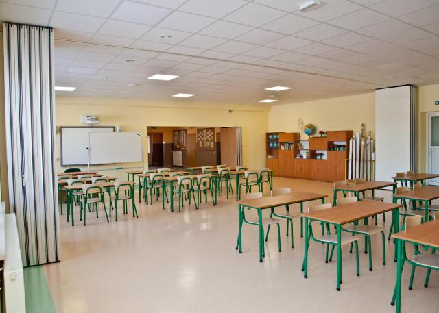 Większa o dwie przestronne sale - szkoła w Lińsku w gminie Śliwice już zmodernizowana