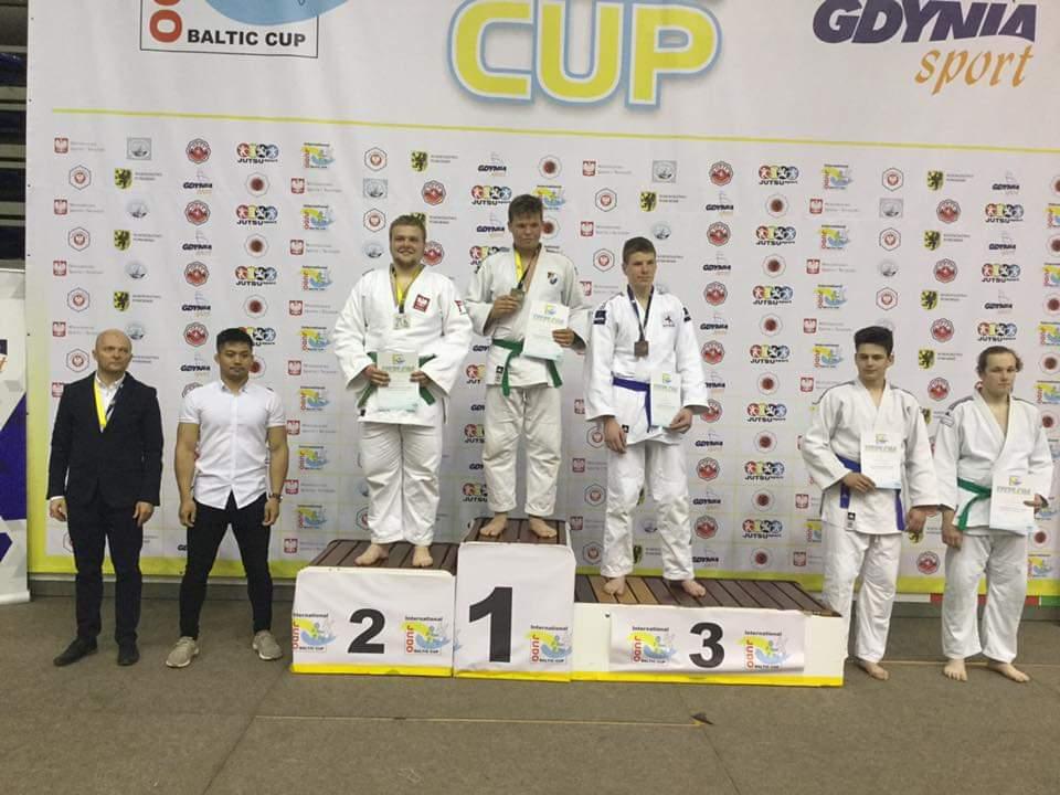 Jakub Wichłacz z bytowskiego klubu judo drugim zawodnikiem Pucharu Polski Juniorów