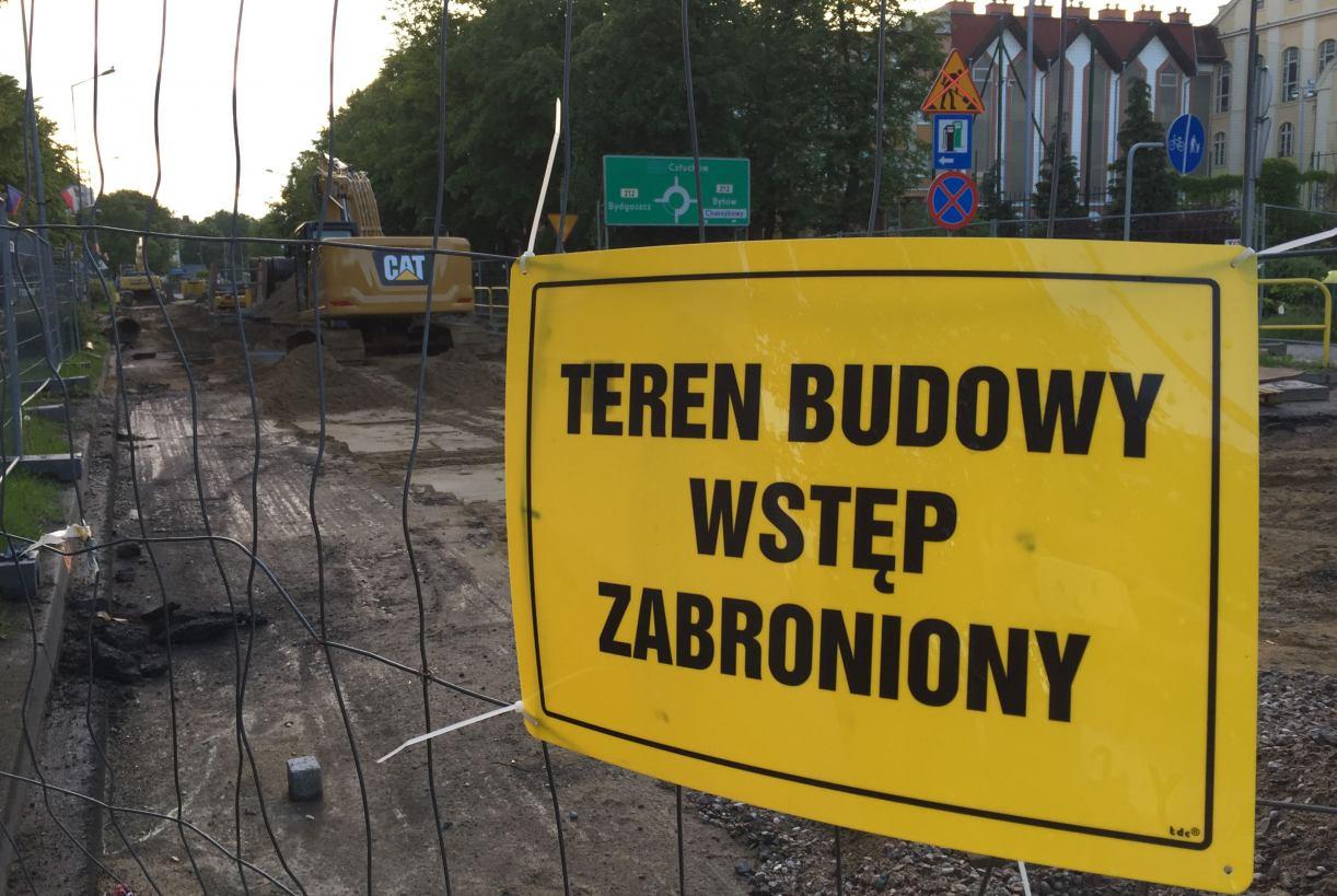 Rondo Solidarności w Chojnicach w końcu ma być całkowicie przejezdne