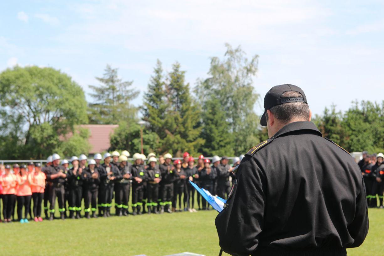 W Kornem koło Kościerzyny odbyły się Powiatowe Zawody Sportowo - Pożarnicze FOTO