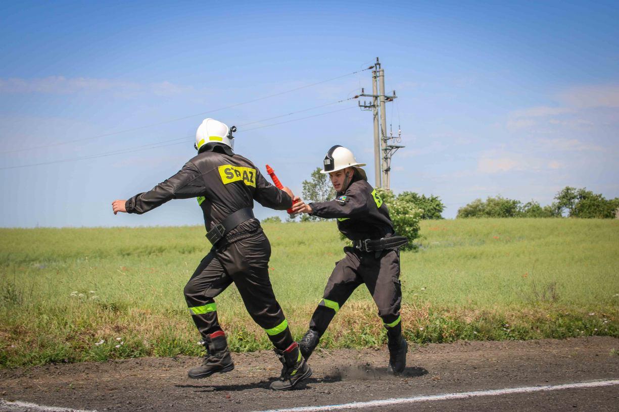 Strażacy ochotnicy z gminy Chojnice rywalizowali podczas zawodów sportowo-pożarniczych w Sławęcinie (FOTO)