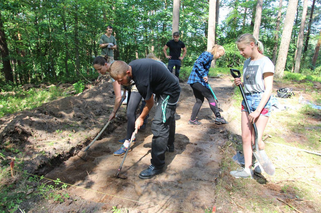 W Garczynie koło Kościerzyny trwają badania archeologiczne