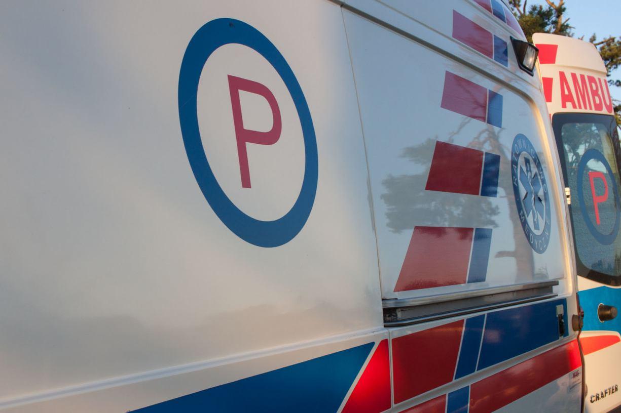 Do szpitala w Chojnicach trafił 12-letni chłopiec, który przewrócił się na rowerze w Wielu, w gminie Karsin