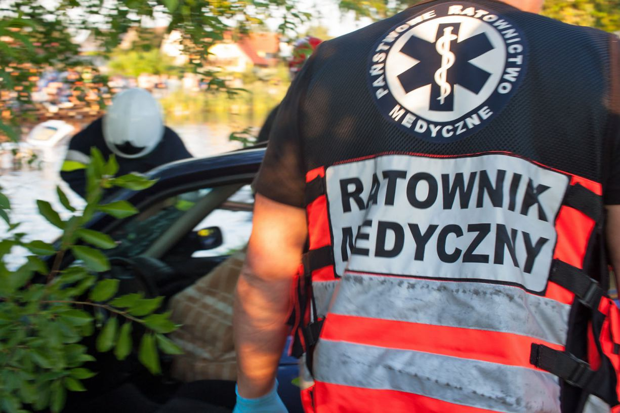 Jedna osoba poszkodowana w wypadku na drodze 240 w Bysławiu. Są wstępne ustalenia policji