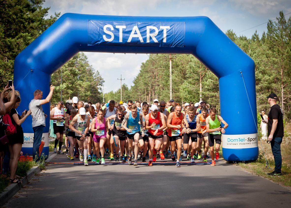 Około 440 zawodników znalazło się na mecie biegów i marszu w ramach 2. Okonińskiej Pętli w gminie Śliwice