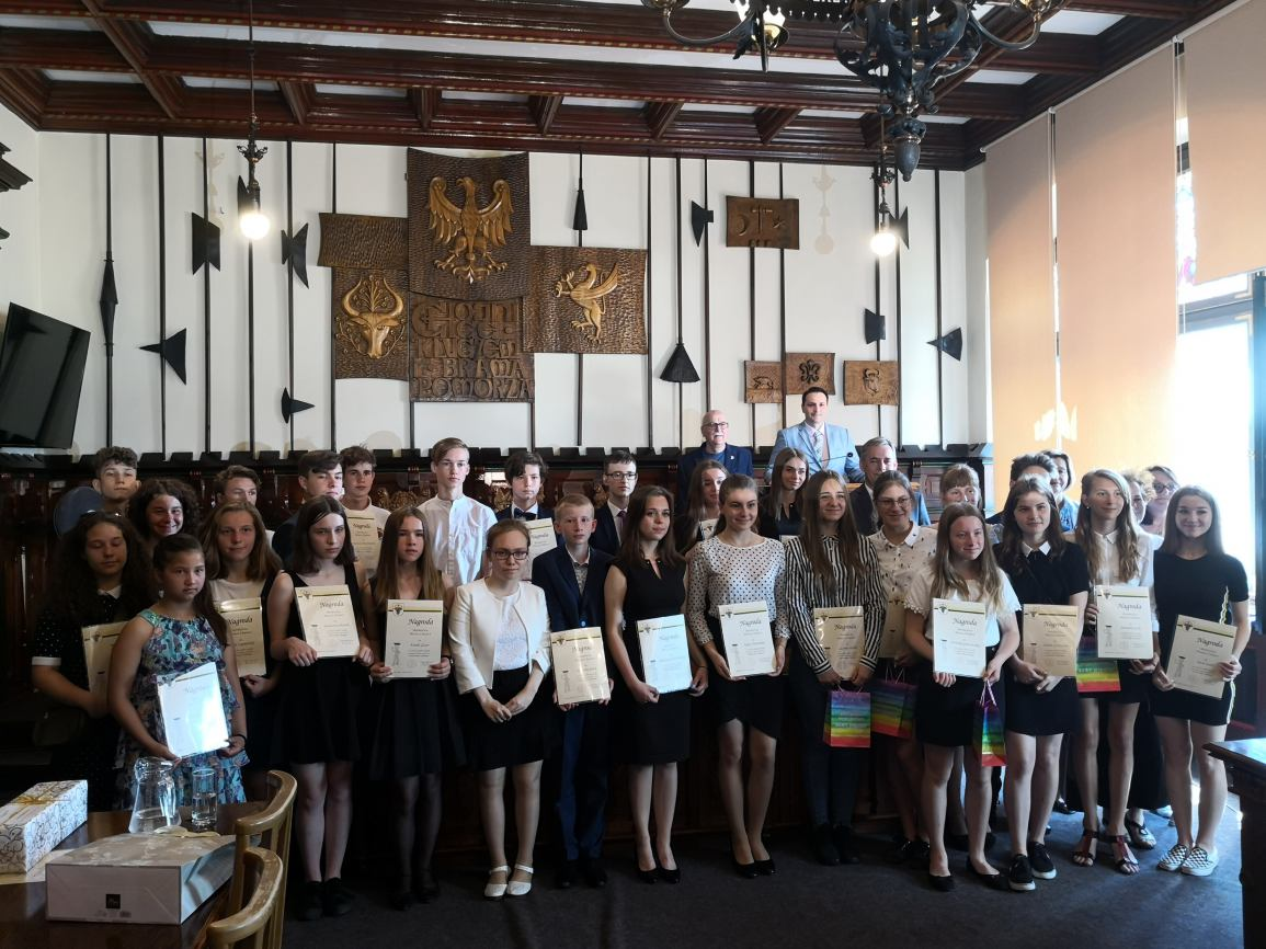 Nagrody dla najlepszych uczniów