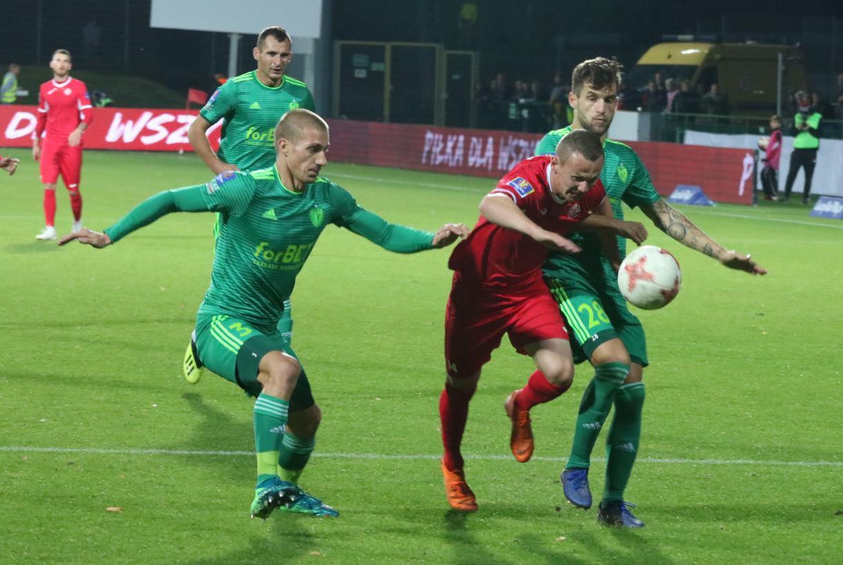 Chojniczanka ściągnęła kolejnego zawodnika Bytovii Bytów. Jej piłkarzem został Mateusz Kuzimski