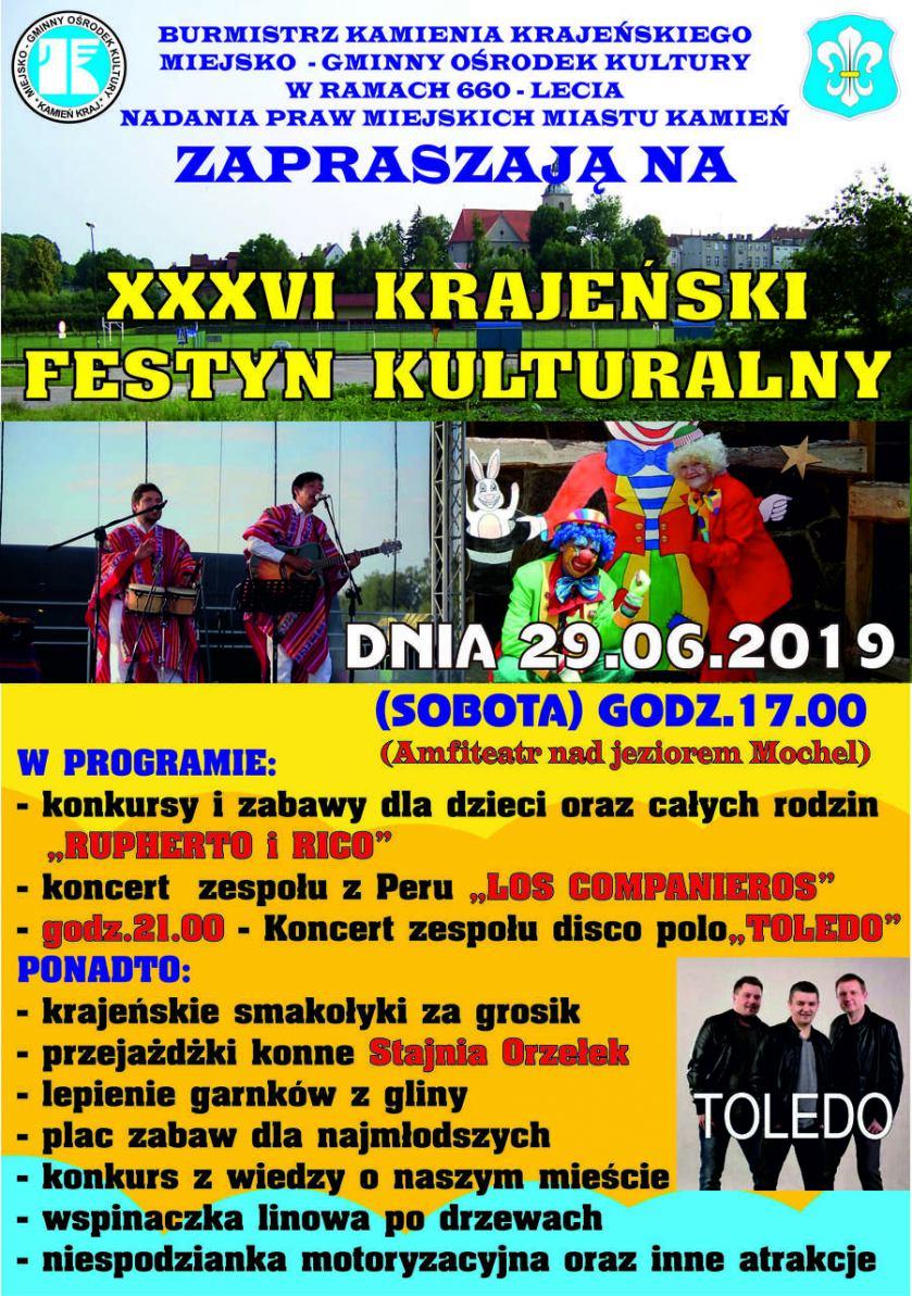 W Kamieniu dziś (29.06) Krajeński Festyn Kulturalny