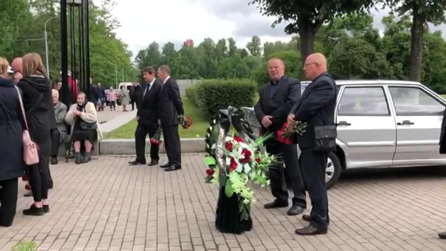 Pogrzeb 14 marynarzy, którzy zginęli w pożarze na rosyjskim okręcie podwodnym