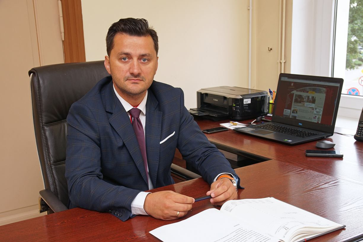 Nowo powołany zastępca burmistrza Człuchowa rozpoczął urzędowanie