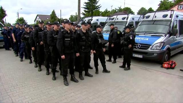 Setki policjantów szukają 5-letniego Dawida zaginionego w okolicach Grodziska Mazowieckiego