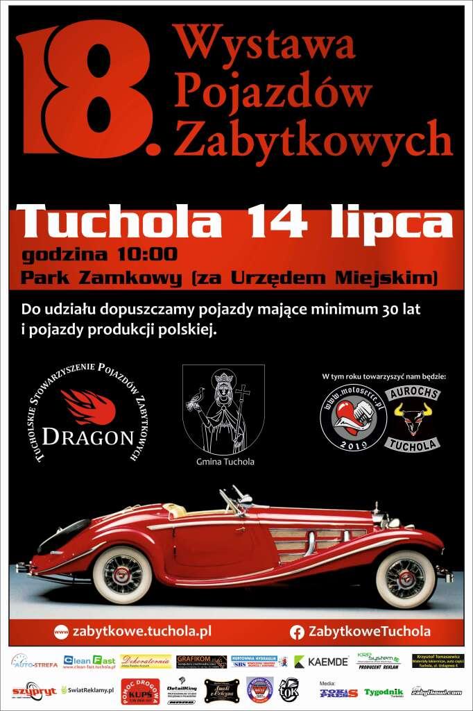 18. Wystawa Pojazdów Zabytkowych w Tucholi już w niedzielę. Gość Weekend FM