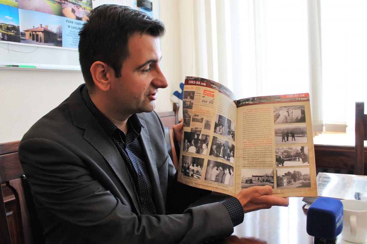 Historyczna publikacja chojnickiego MZK na 60-lecie istnienia zakładu