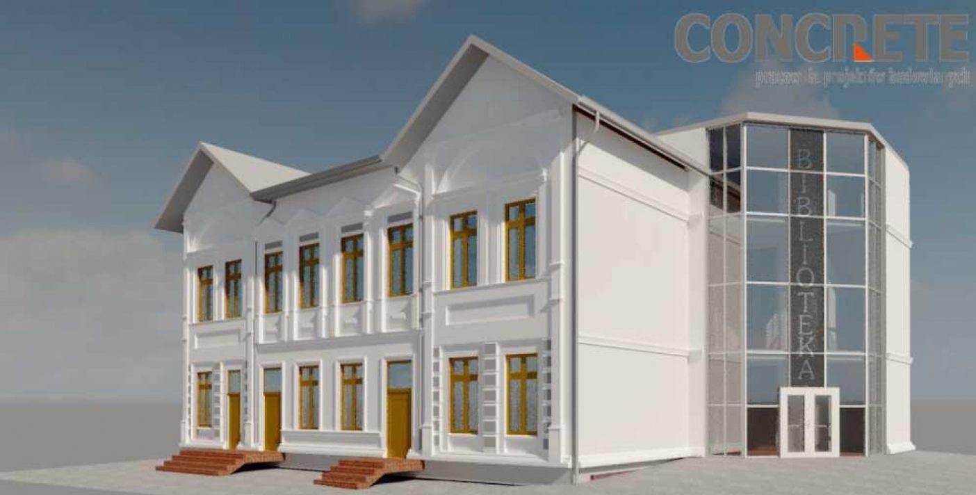 Gmina Przechlewo pozyskała 2 miliony złotych na nową siedzibę Gminnej Biblioteki i Centrum Kultury