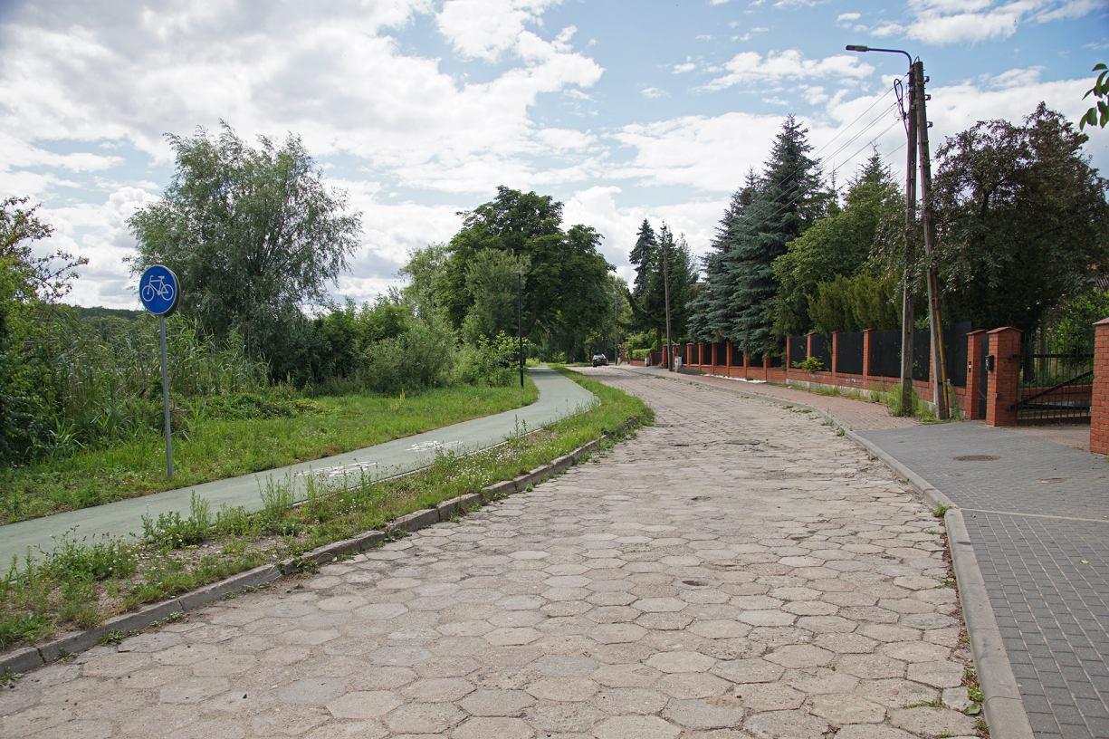 Rozpoczęła się modernizacja ul. Jeziornej w Człuchowie