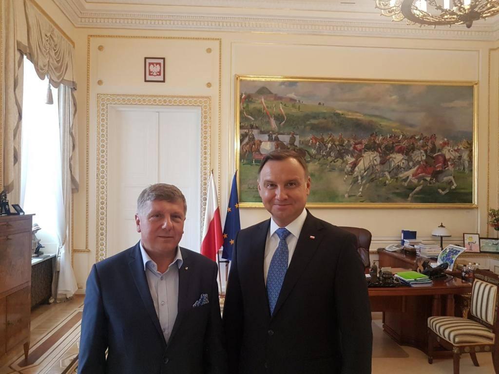 Doradca prezydenta RP Piotr Karczewski z Kościerzyny Gratuluję panu prezydentowi, to jest ponad 10 milionów głosów poparcia