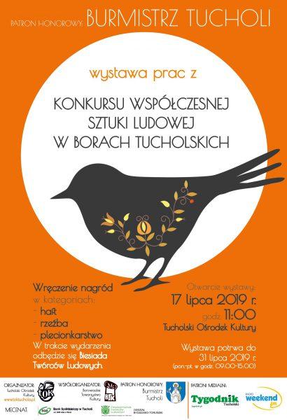 Dziś 17.07 w Tucholi święto twórców ludowych