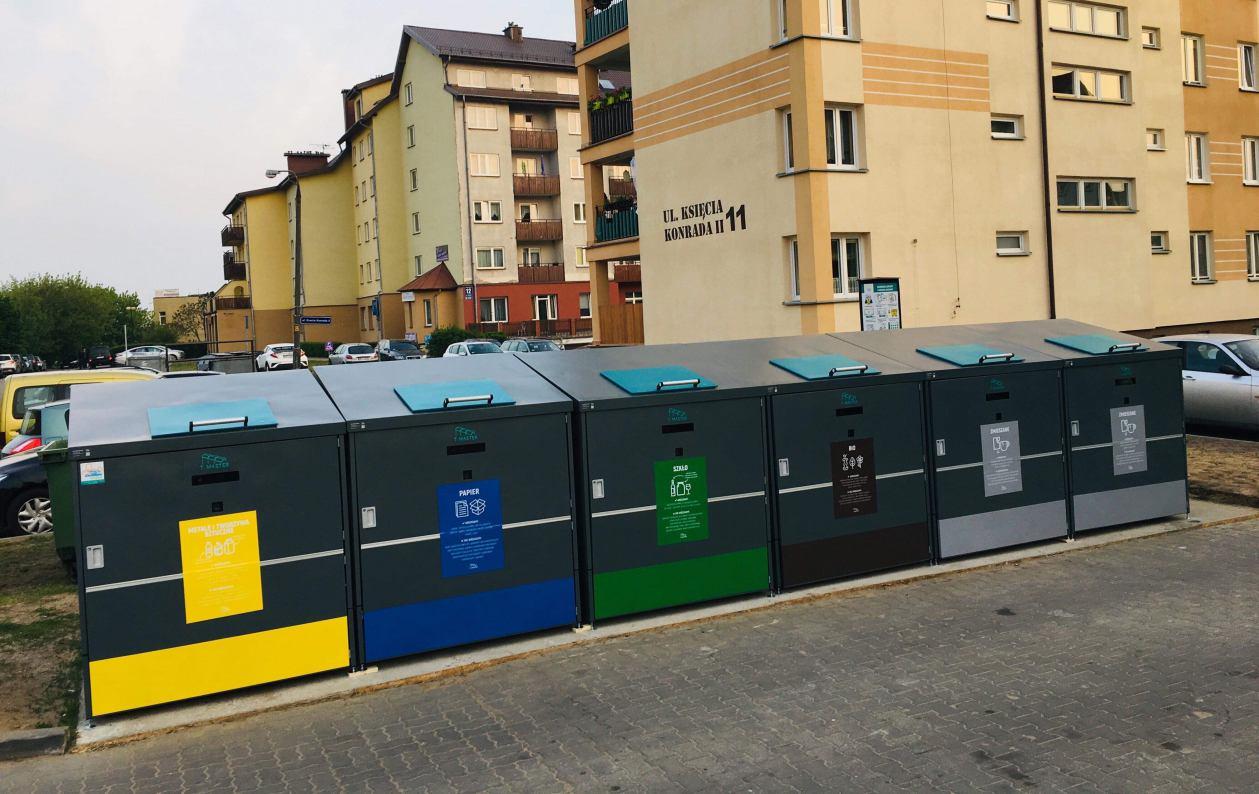 Inteligentna segregacja śmieci