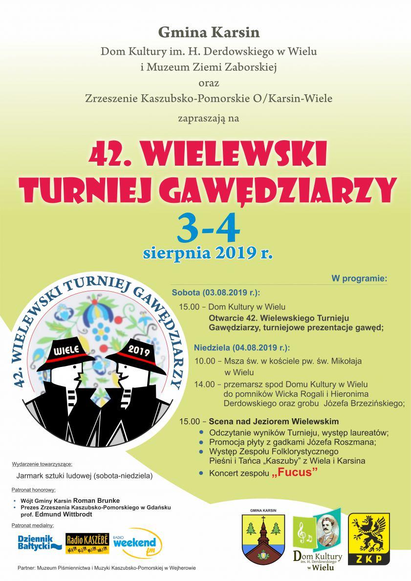 W ten weekend w Wielu, w gminie Karsin, już po raz 42. odbędzie się Turniej Gawędziarzy