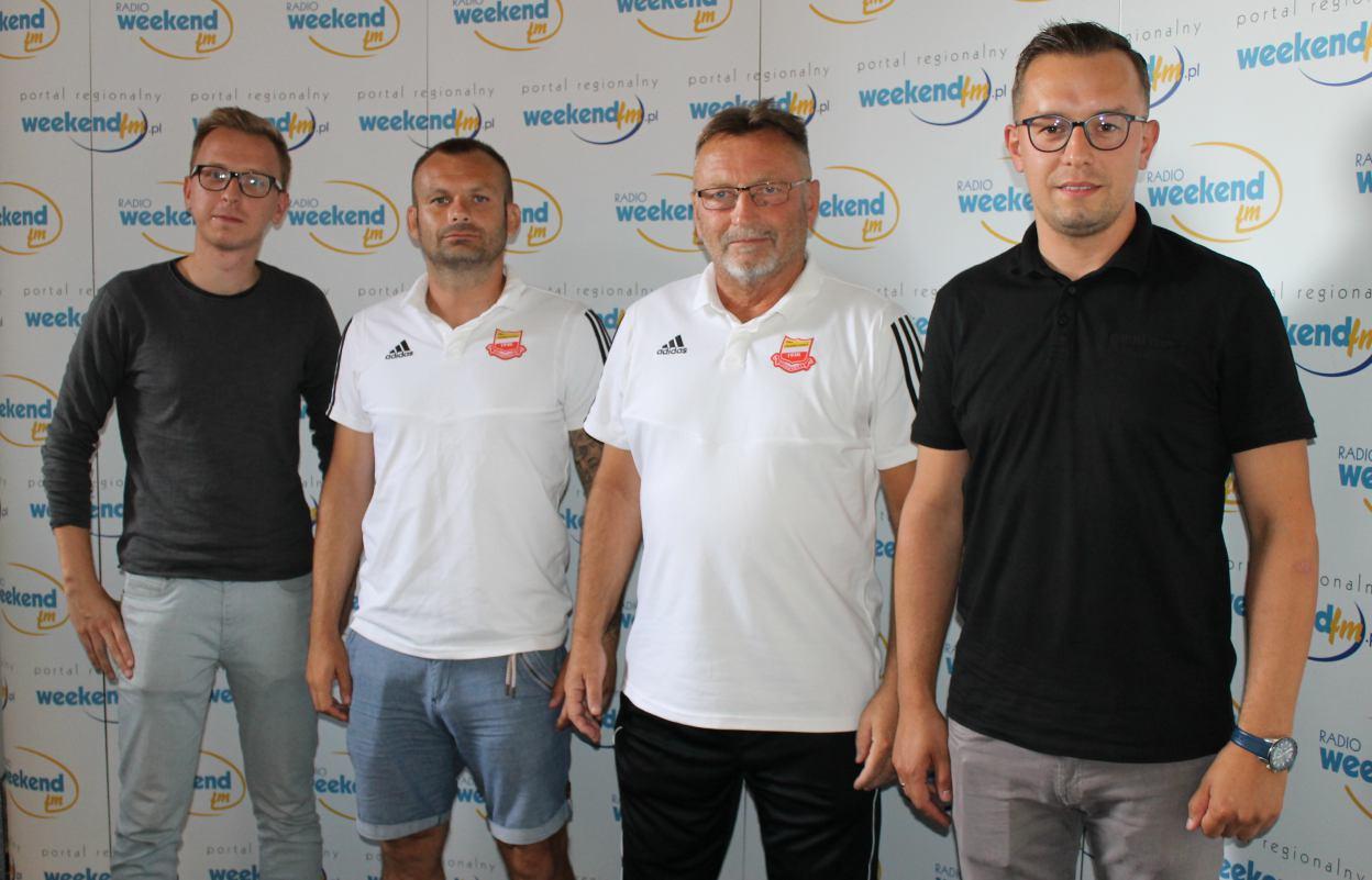 Daniel Feruga z Bytovii i czescy trenerzy Chojniczanki gośćmi Sportowego Weekendu