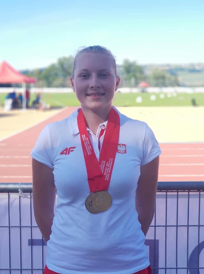 Złoto  Paraolimpijskich Mistrzostwach Świata Juniorów dla zawodniczki Olimpijczyka Skorzewo
