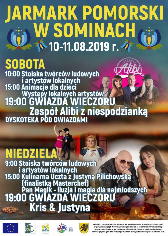 W ten weekend w Sominach, w gminie Studzienice, odbędzie się Jarmark Pomorski