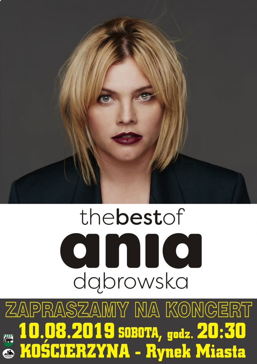 Ania Dąbrowska wystąpi dziś w ramach Kościerskiego Lata Muzycznego