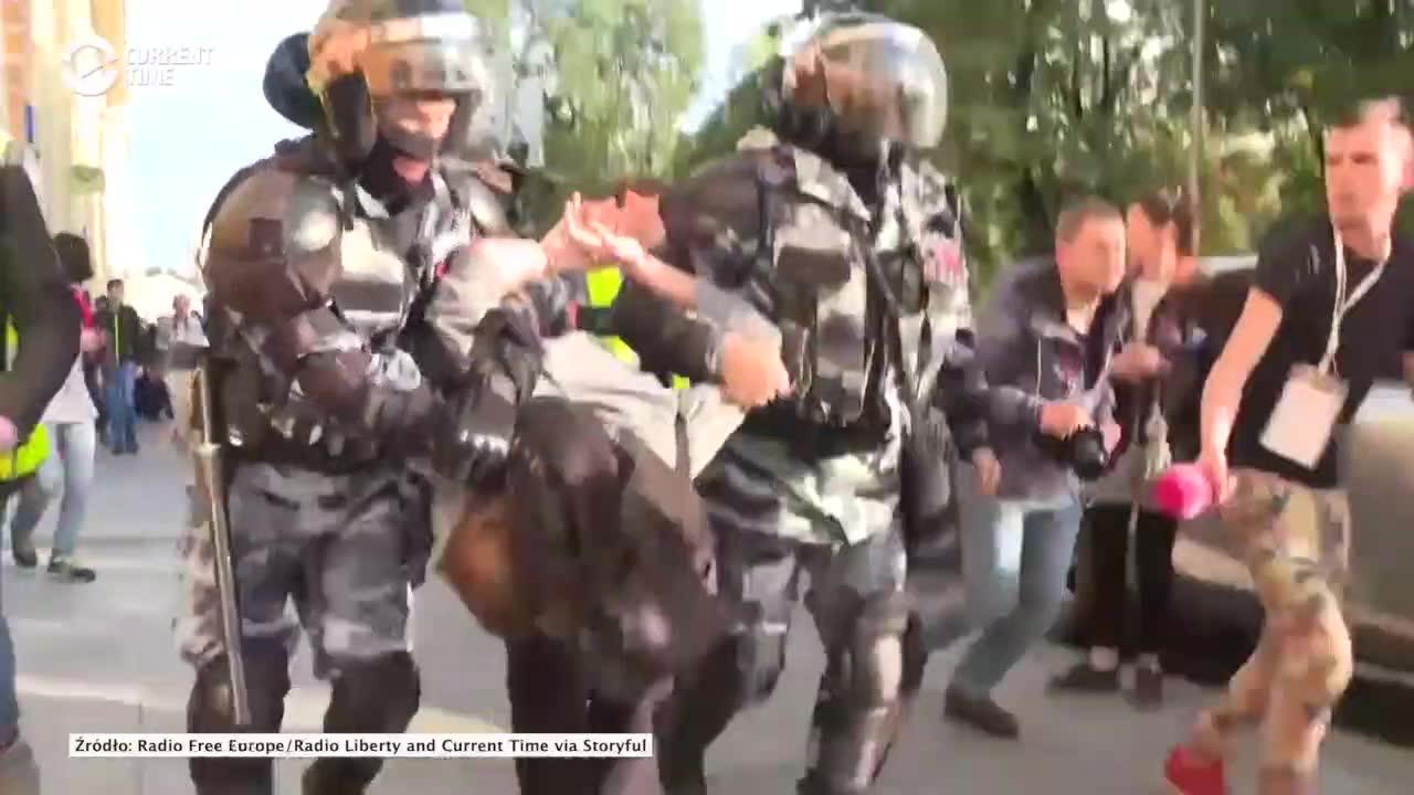 Wielotysięczny protest w Moskwie. Domagano się sprawiedliwych wyborów samorządowych