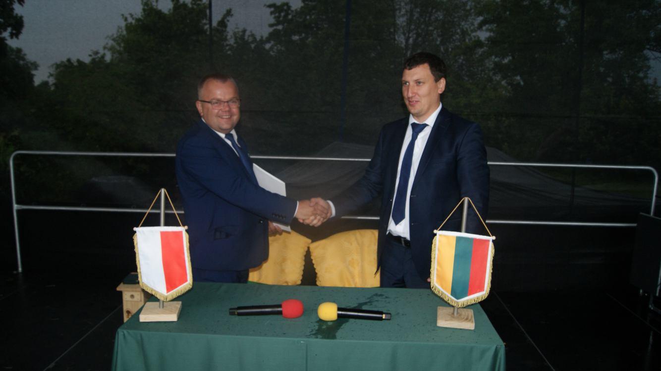 Chcemy rozwijać kontakty. Przechlewo i litewskie Podbrodzie współpracują już oficjalnie