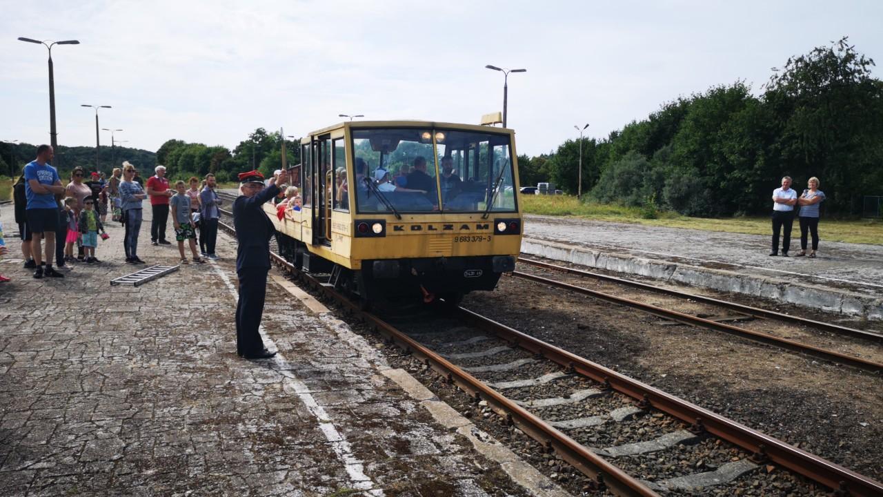 W Bytowie odbył się Piknik Kolejowo-Drezynowy z okazji 135-lecia doprowadzenia kolei do miasta