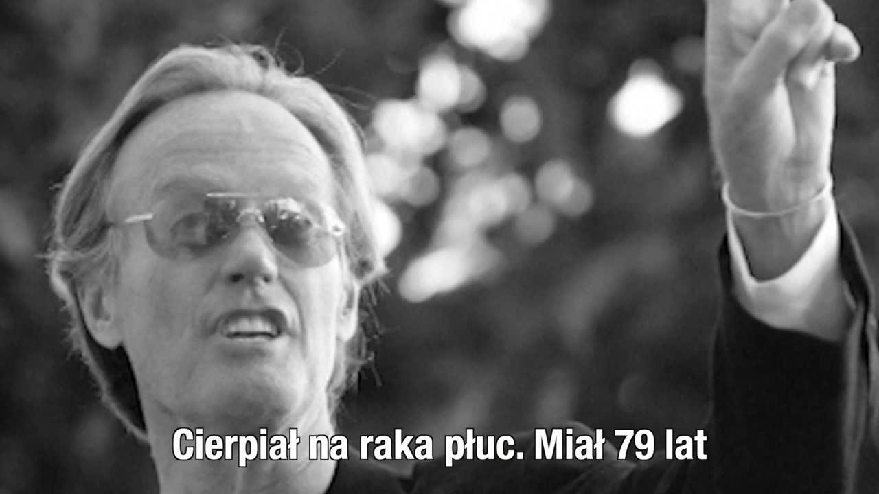 """Nie żyje Peter Fonda. Aktor znany ze """"Swobodnego jeźdźca"""" cierpiał na raka płuc"""