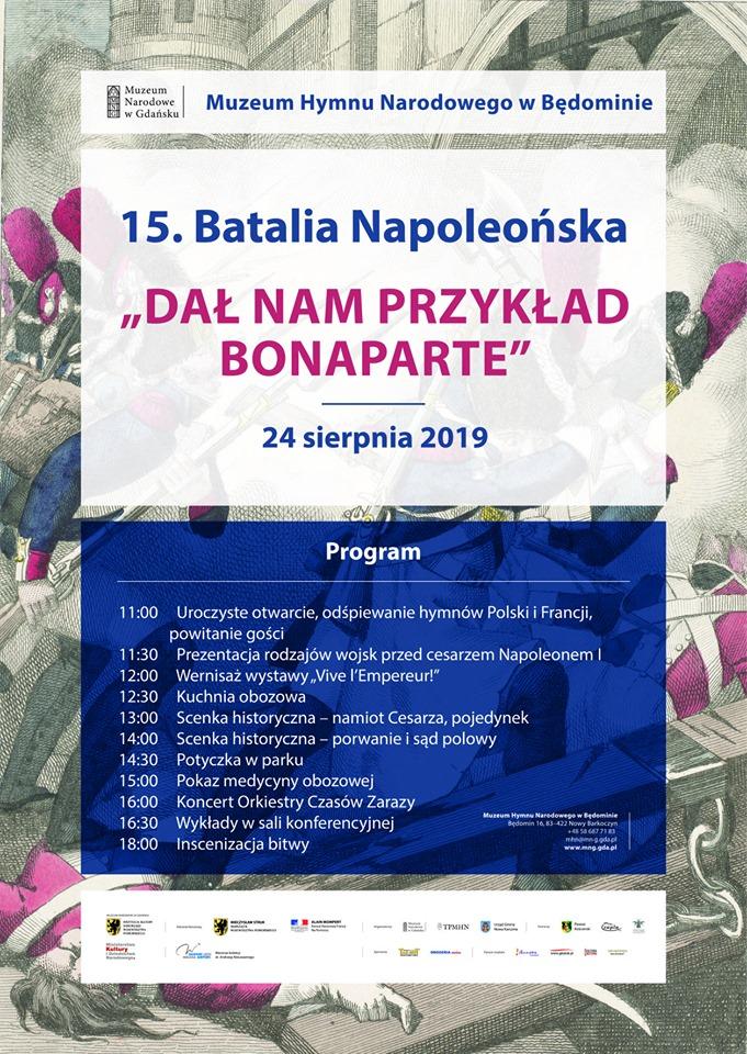 Jutro (24.08) w Będominie k. Kościerzyny kolejna odsłona Batalii Napoleońskiej