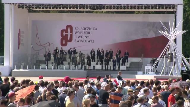 Obchody 80. rocznicy wybuchu II wojny światowej na Placu Piłsudskiego