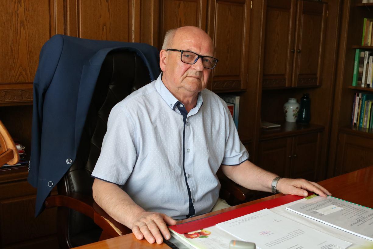 Szef człuchowskiego sanepidu Tadeusz Dębski przeszedł na emeryturę