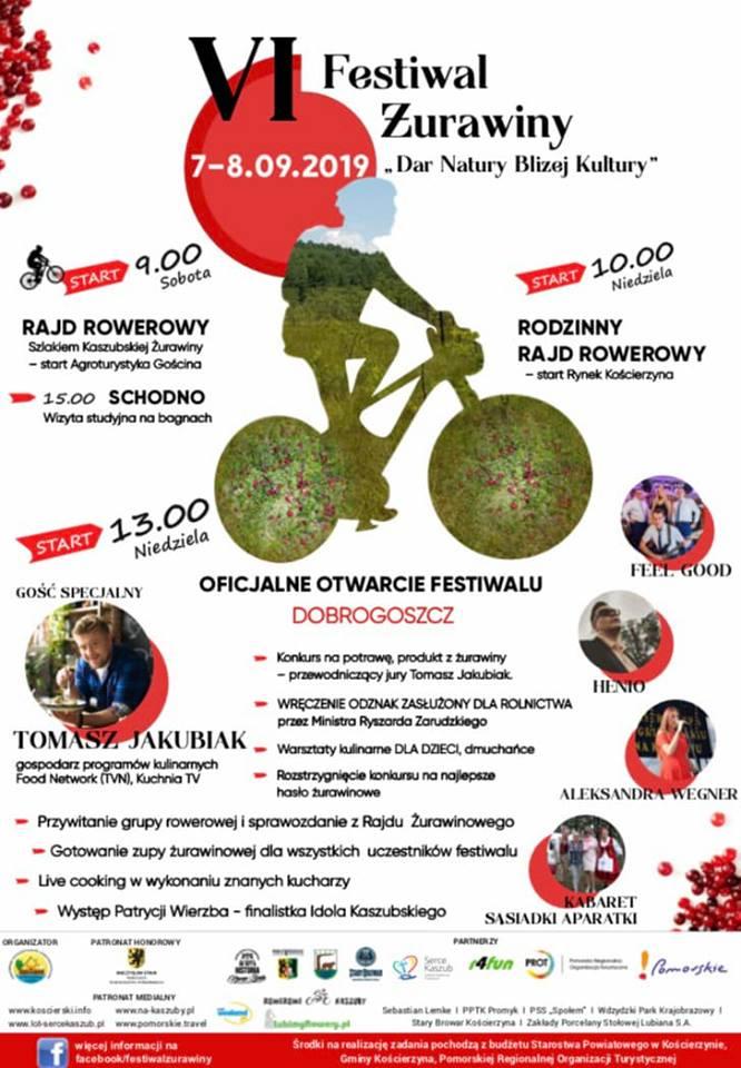 Już w ten weekend w powiecie kościerskim odbędzie się Festiwal Żurawiny