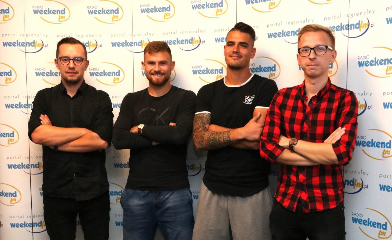 Przemysław Lech i Michał Rutkowski z Bytovii gośćmi w studiu Weekend FM