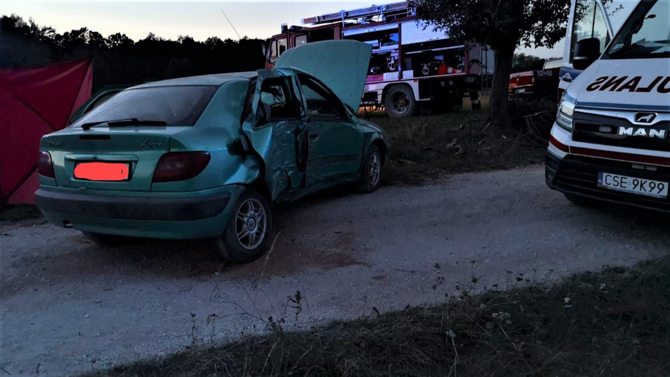 Trzy miesiące aresztu dla sprawcy śmiertelnego wypadku we Włościbórku w gminie Sępólno Krajeńskie